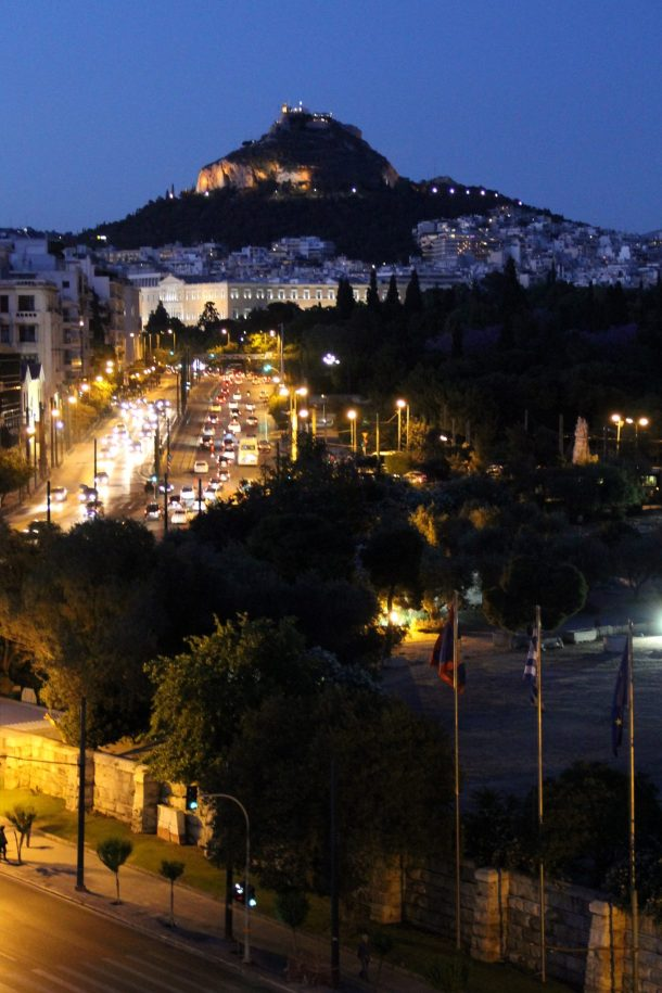 Mt Lycebettus Night