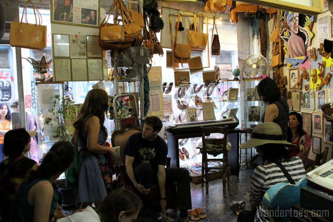 Athens Melissinos Shop 2 Wandertoes