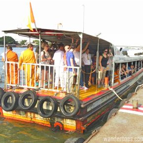Chao Phraya:  The Water Taxi Experience