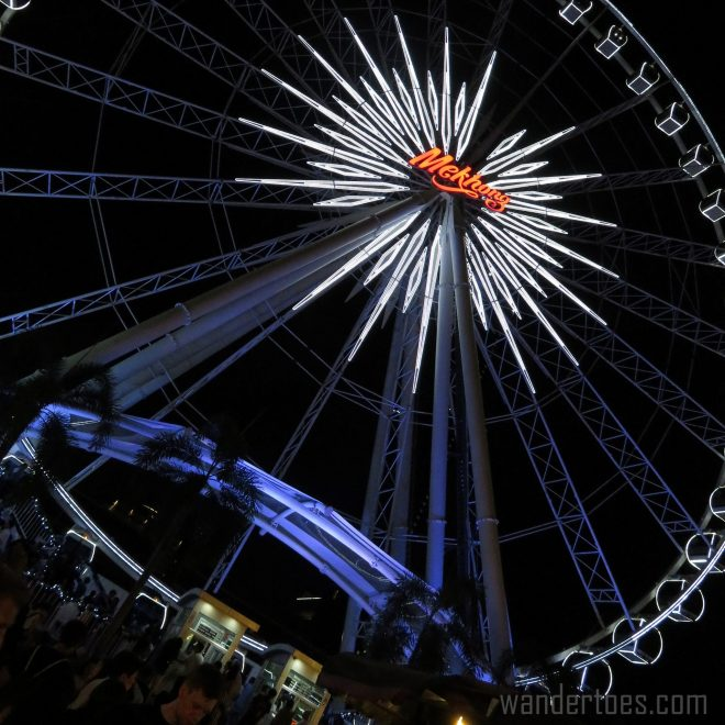 Asiatique Bangkok Thailand Shopping Carnival Travel Photography Mekhong Ferris Wheel