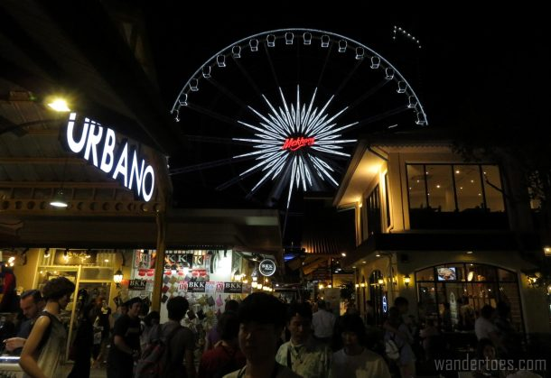 Asiatique Bangkok Thailand Shopping Carnival Travel Photography Mehkong Wheel