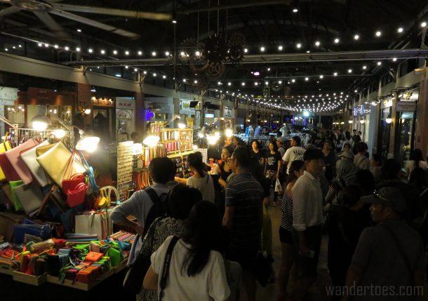 Asiatique Night Market Bangkok  Shops