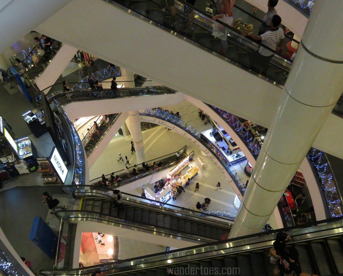Terminal 21 Escalators