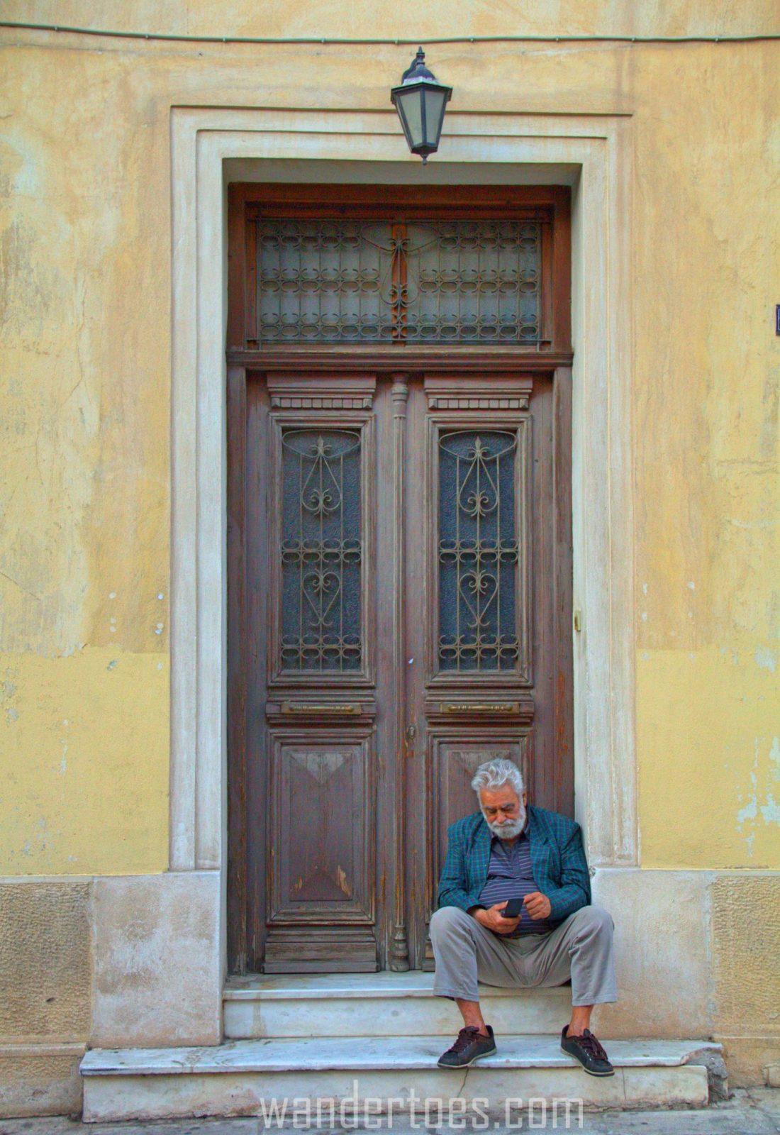 door plaka athens greece travel photography