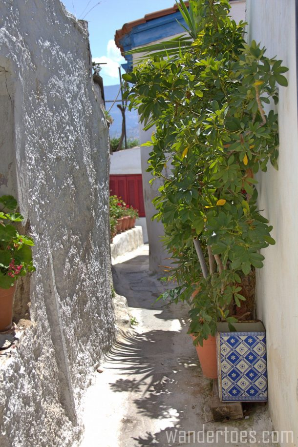 Anafiotika, Plaka, Athens, Greece, road, Travel photography