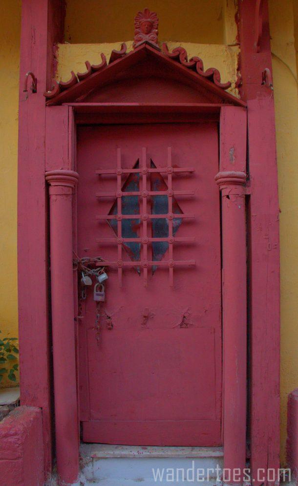 Red & Yellow Door