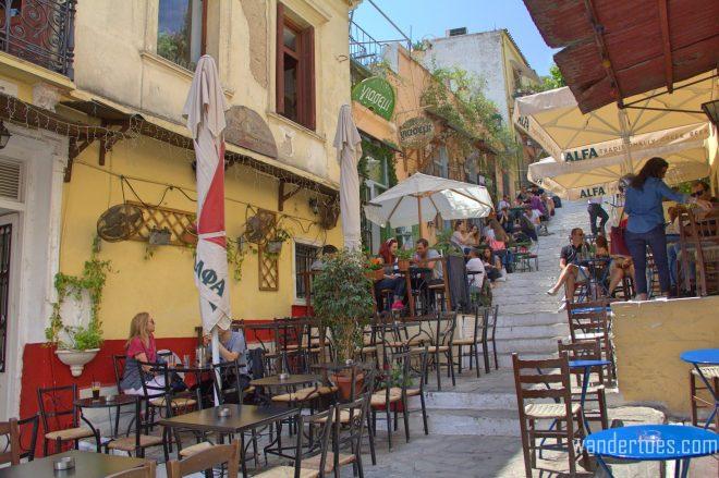Plaka Steps Restaurants