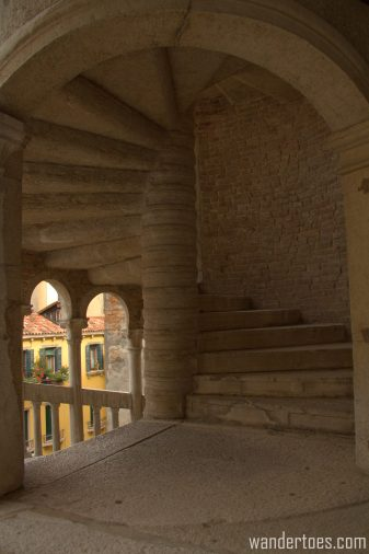 Scala Contarini del Bovolo exterior photo Hidden Gem Top Secret Sights Venice Italy
