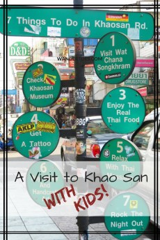 Bangkok's Khao San Road with Kids