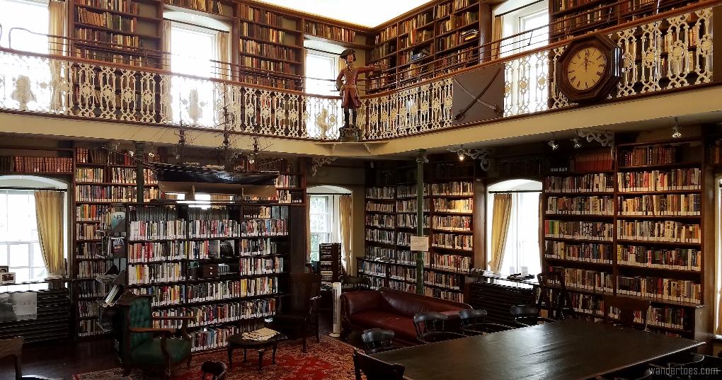 Morrin Centre English language library, Morrin Center, Quebec City