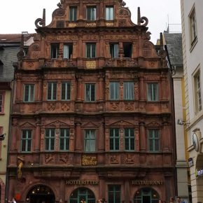 Hotel Zum Ritter St. Georg: Sleeping in the 2nd Most Photographed Site in Heidelberg