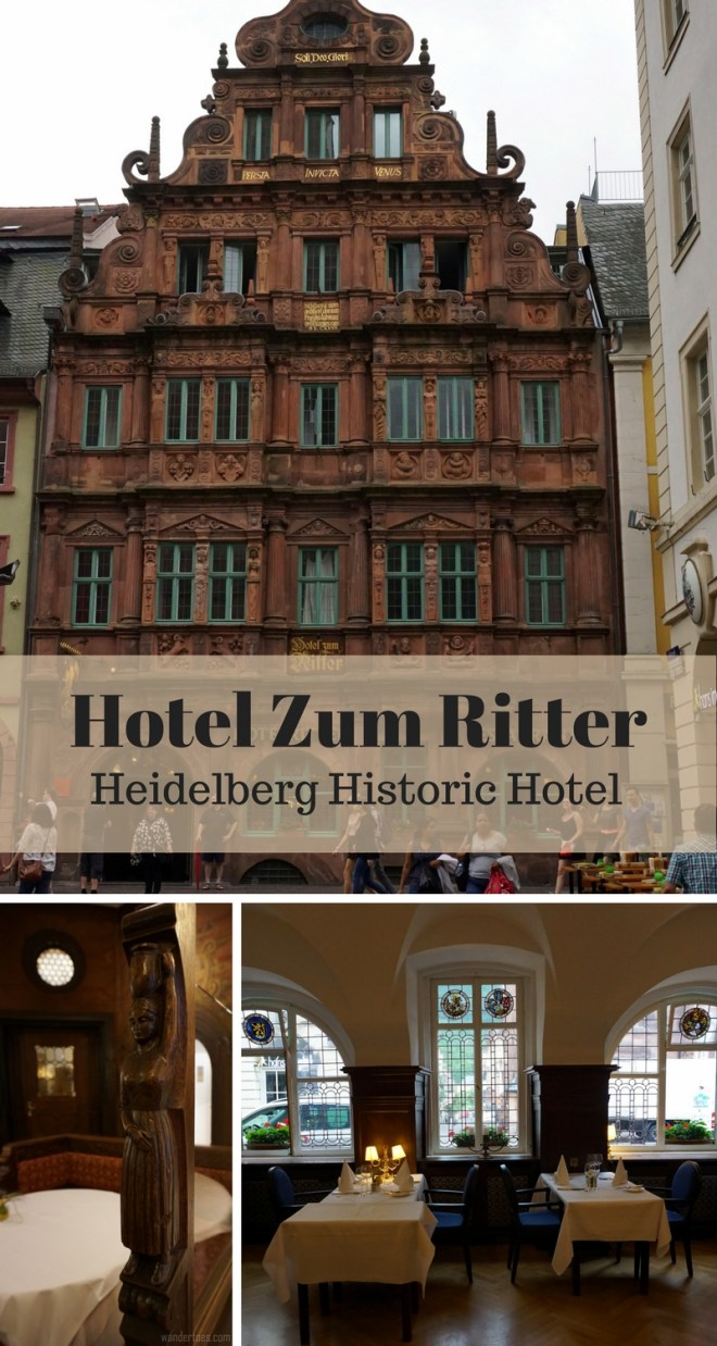 Heidelberg, Germany's 2nd most photographed site is Hotel Zum Ritter St. Georg!  Come see why....