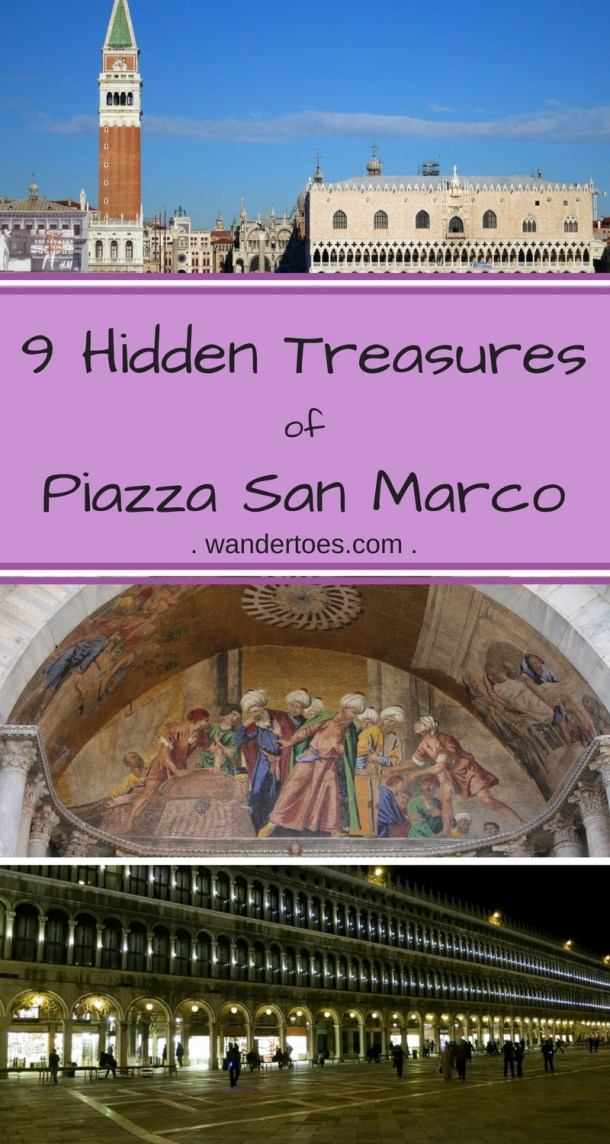 Venice, Italy:  The Piazza San Marco has some of it's hidden treasures right out in the open for free!