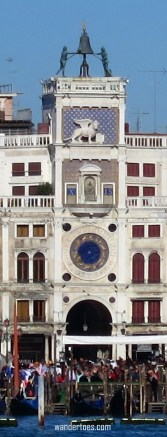 Piazza San Marco Clock Tower 2 Venice