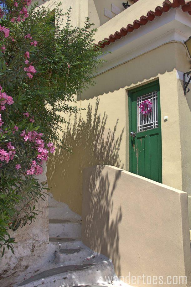 Anafiotika Plaka Greece