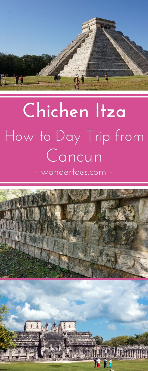 Chichen Itza from Cancun, Mexico: Options for taking a Chichen Itza day trip from Cancun and major sites of the Chichen Itza complex. Day trip to Chichen Itza from Cancun | Cancun to Chichen Itza bus | Distance form Cancun to Chichen Itza | Chichen Itza Private Tours | Chichen Itza Entrance Fee