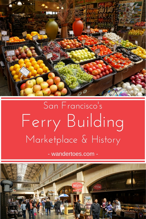 San Francisco, USA: The Ferry Building, San Francisco's historic landmark, draws tourists and locals alike to highly rated restaurants and delicious artisanal shops. Enjoy a peek inside and great information on it's current use and fascinating history. | San Francisco Ferry Building Marketplace | San Francisco Ferry Building History | San Francisco Ferry Building Restaurants | Ferry Building San Francisco Restaurants | #FerryBuilding #SanFranciscoHistoricBuildings #SFFoodie #SanFranciscoMarkets