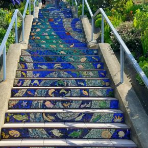 San Francisco's Stair Mural:  Community Project, Instagrammer's Dream