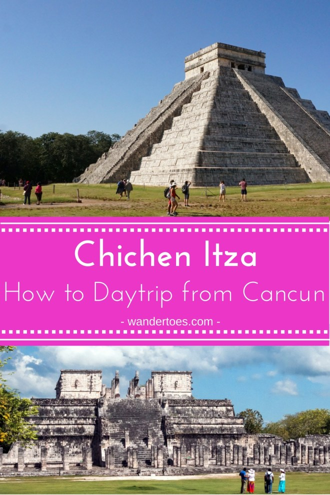 Chichen Itza from Cancun, Mexico: Options for taking a Chichen Itza day trip from Cancun and major sites of the Chichen Itza complex. Day trip to Chichen Itza from Cancun | Cancun to Chichen Itza bus | Distance form Cancun to Chichen Itza | Chichen Itza Private Tours | Chichen Itza Entrance Fee | #Cancun #ChichenItza #ChichenItzaDayTrip #CancuntoChichenItza
