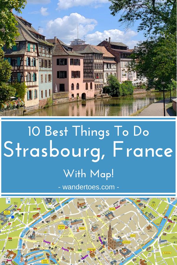 Best Things To Do In Strasbourg France Wandertoes - Things to see in paris map