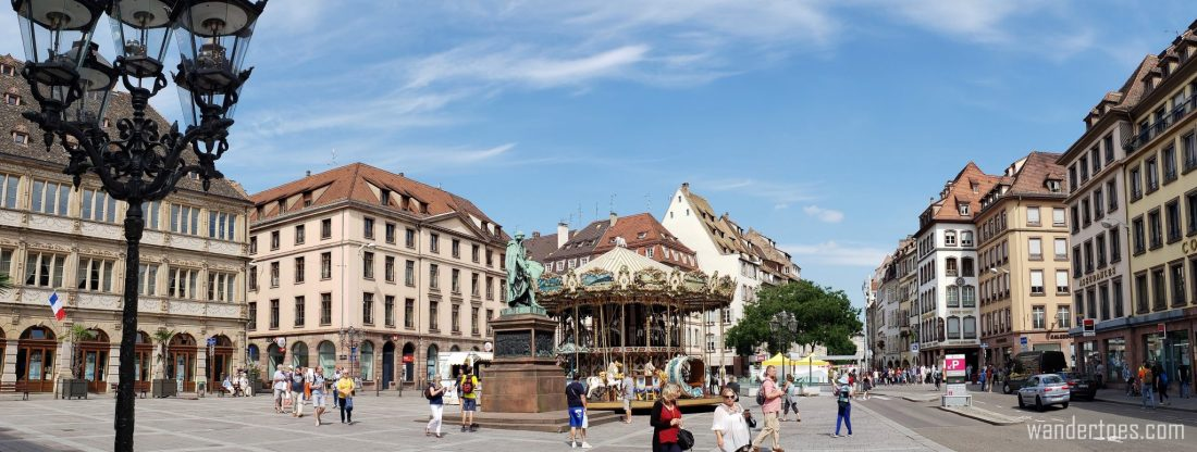 Gutenberg Square in Strasbourg France | What to do in Strasbourg | Strasbourg France Things To Do