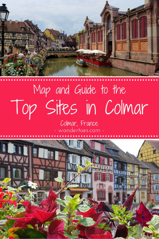 Colmar, France: Colmar is incredibly photogenic and rich in historical architecture.  By train, Colmar is only 30 minutes from Strasbourg, and an ambitious but doable 2.5 hours from Paris.  The accessibility, history, and beauty of Colmar make it an ideal day trip.  Colmar Day Trip | Colmar Map | Colmar Top Sites | Colmar Historic Walk | Small Towns in France | Colmar France
