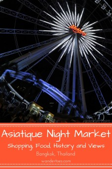 Bangkok, Thailand: Asiatique Night Market Bangkok offers food, shopping, and Bangkok history. Plan a trip to this famous night market in Bangkok during your visit!