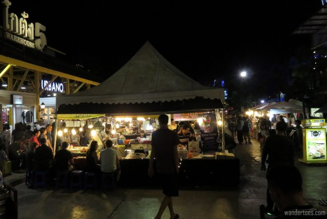 Asiatique Night Market Boardwalk View