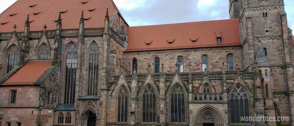 Old Town Nuremberg Historic Churches