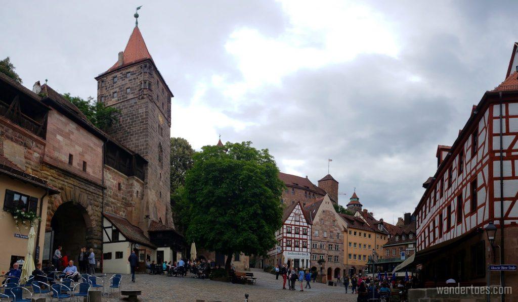 Old Town Nuremberg Tiergarten City Gate