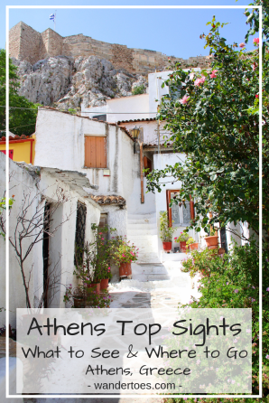 Athens, Greece: Whether you are planning your walk through Plaka, Athens, Greece, or standing in the Athens Agora looking for somewhere to eat, let me help you out with the top sites and a Google map to help get you there! Plaka | Athens | Plaka Map | Athens Map | Athens Tourist Map | Wandertoes