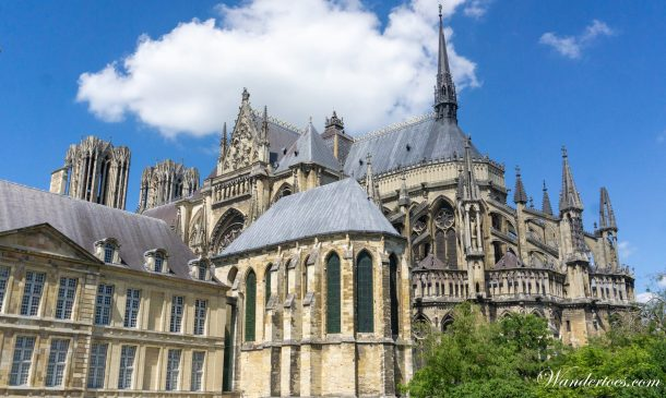 Day trips from paris by train | Reims Cathedral