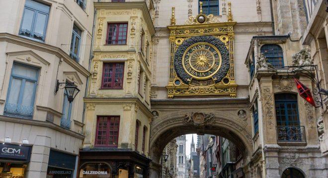 Rouen Gros Horloge | Rouen Day Trip | Is Rouen Worth Visiting?