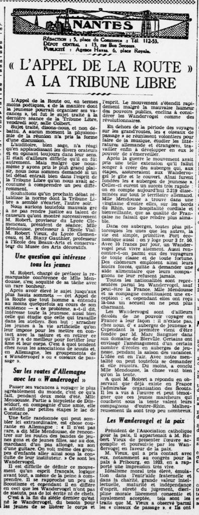 1930-04-14 - L'appel de la route - L'Ouest Eclair (suite)
