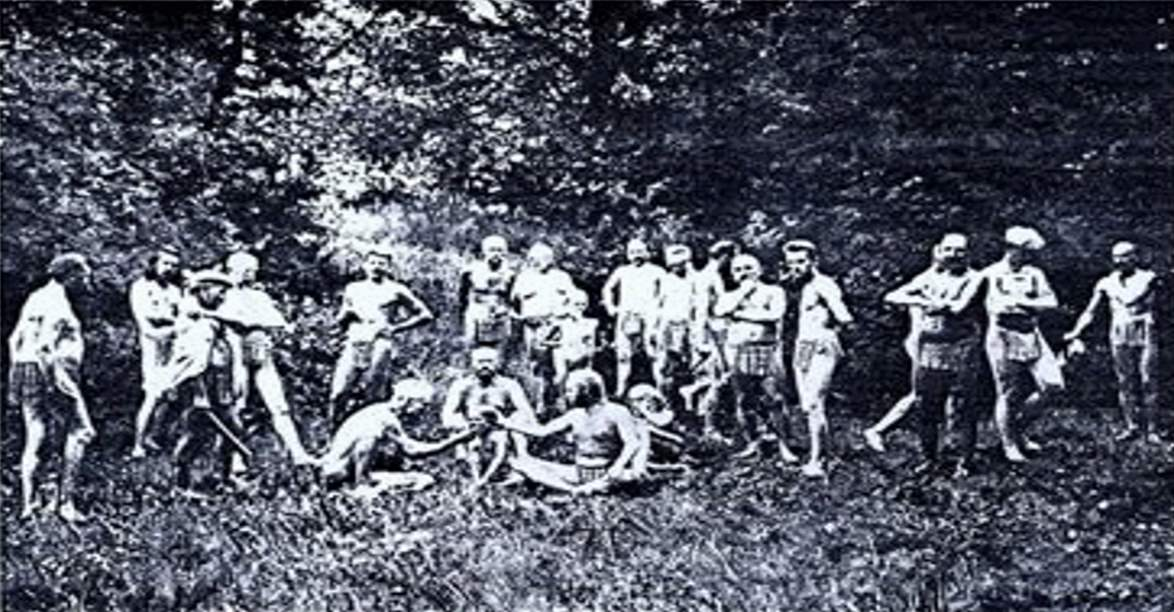 Les naturistes de Monte Verita - Jules Chancel - L'Illustration No 3361 du 27 Juillet 1907_Titel