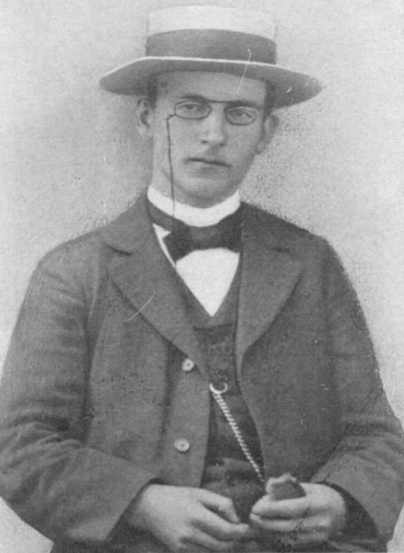 Hoffmann, Heinrich - Étudiant en 1897