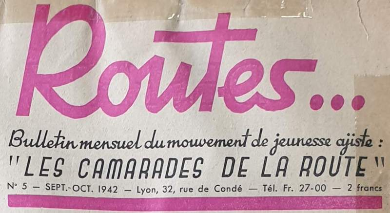 Routes Bulletin des Camarades de la Routes 1942
