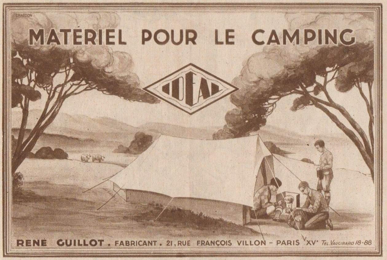Camper est un art - Materiel de camping