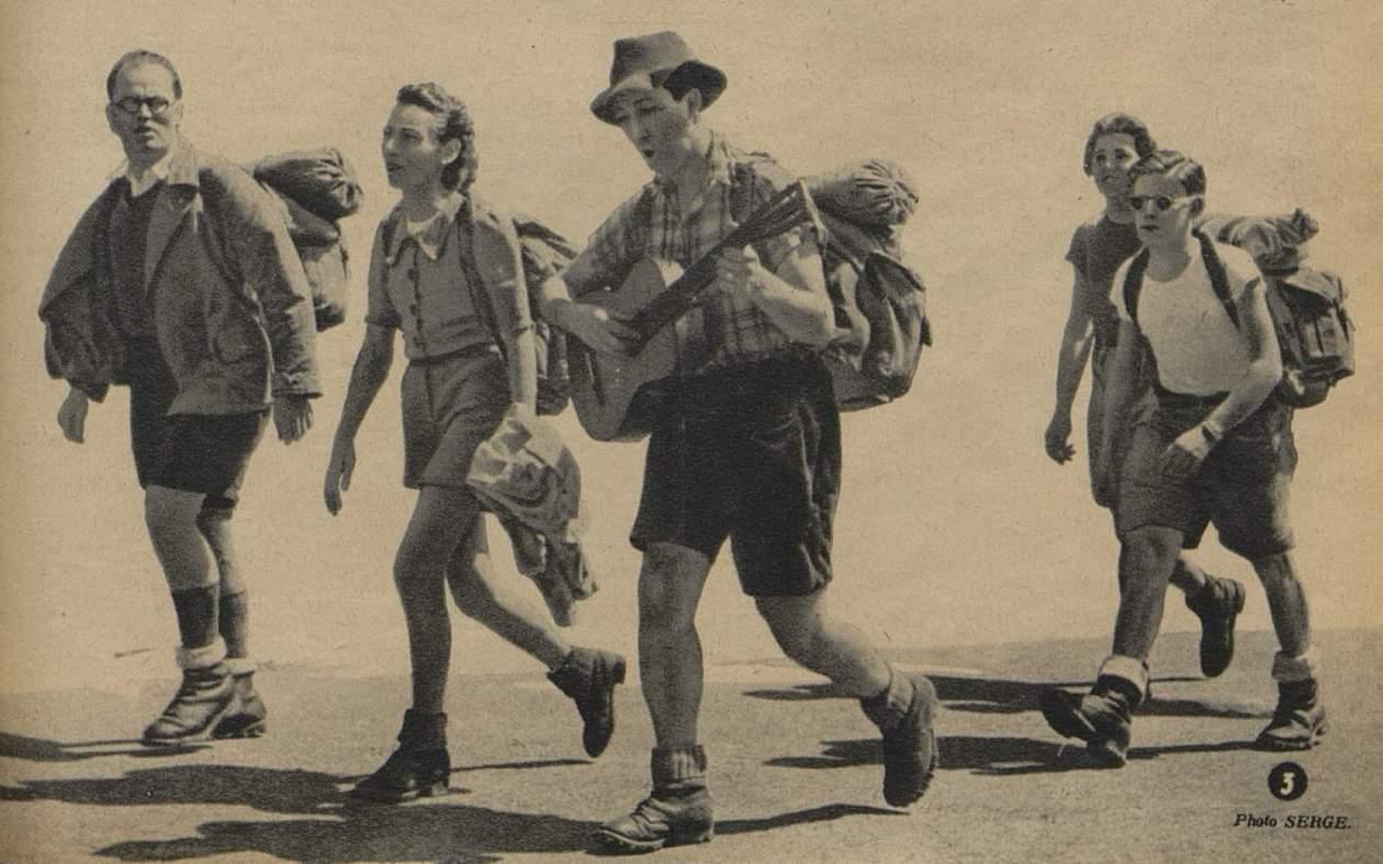Camping-plein air_Marchons_1946