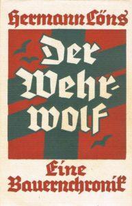 Löns, Hermann - Der Wehrwolf - Le Loup-Garou