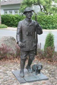 Statue d'Hermann Löns