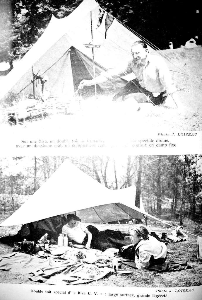 Tente Itisa - Jean Loiseau