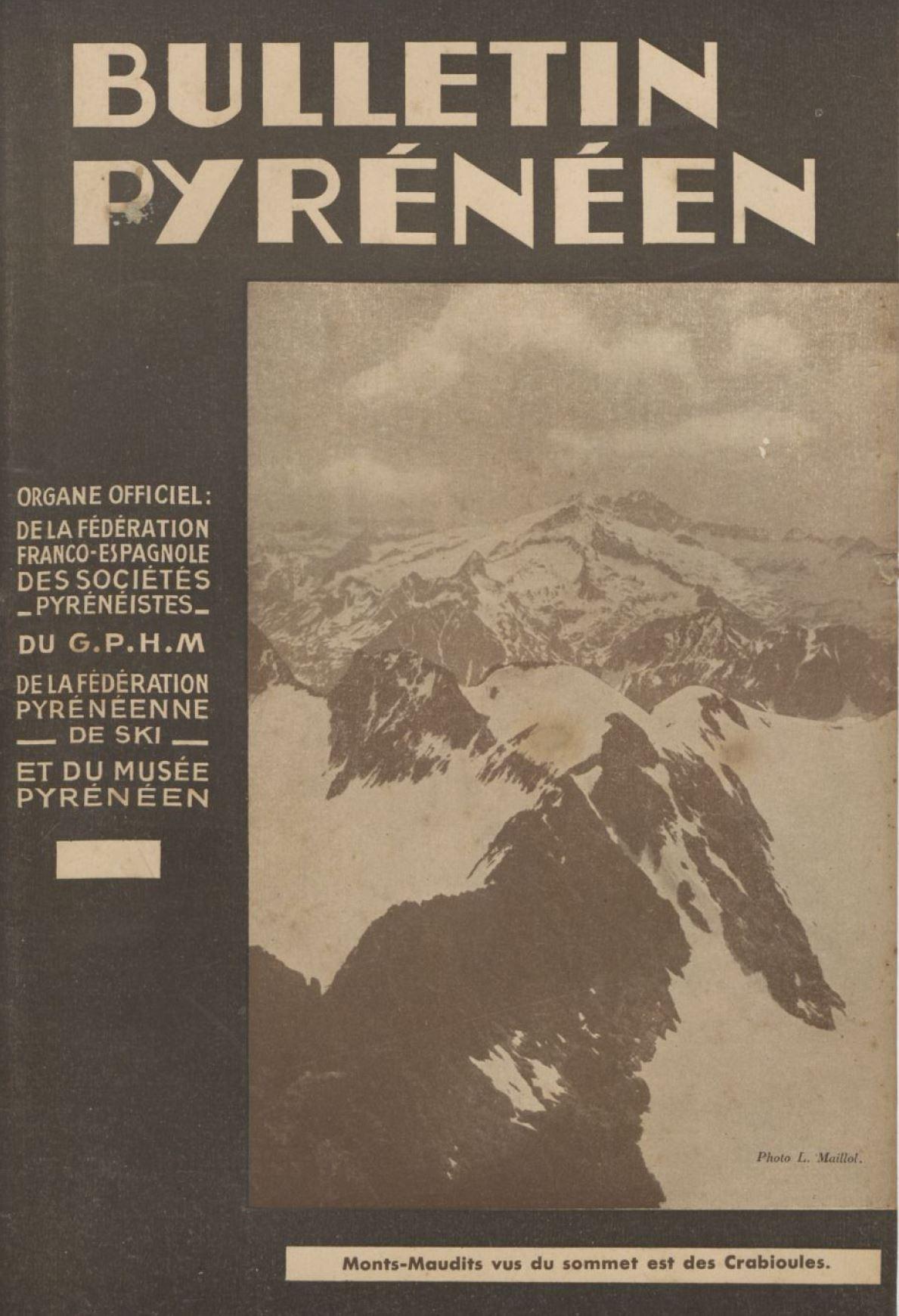 1941 - Bulletin_pyrénéen- Le mouvement Jeunesse et Montagne_cover