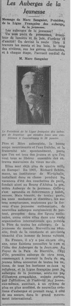 1935-06-28_Luxembourg_Message de Marc Sangnier