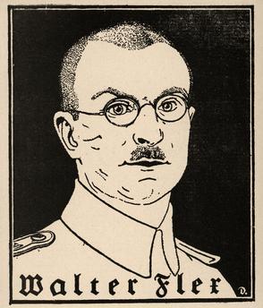 Walter Flex dessin