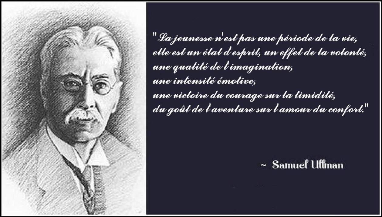 Samuel Ullmann - être jeune