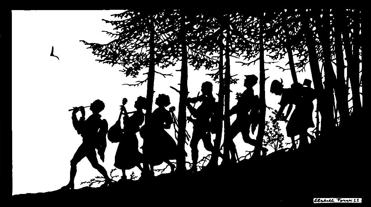 Forck, E. Wandervögel Reihe XXI Wandern 1928 03