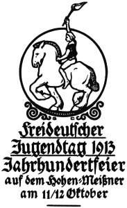 Freideutscher Jugendtag 1913 Hohen Meisner