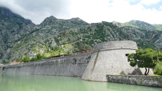 Town walls on the hill, Kotor