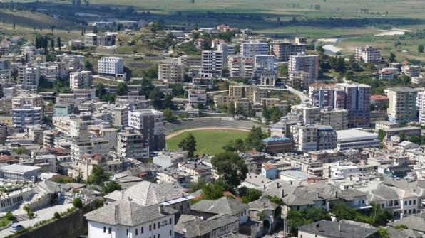 Modern Gjirokaster, Albania